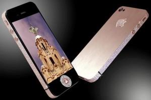 Iphone 4 de diamantes