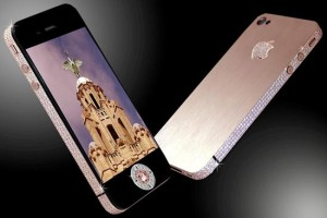 Iphone 4 de diamantes