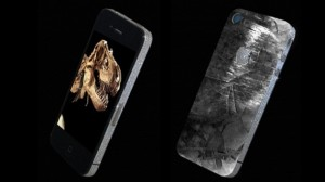 iPhone 4 feito de dentes de T-Rex e pedaços meteoro