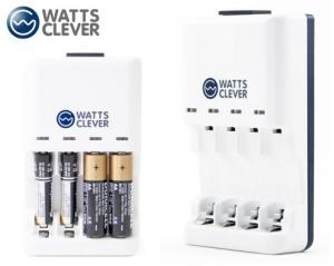 WattsClever Alkaline Battery Charger